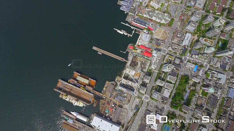 Industrial Shoreline North Vancouver BC Canada