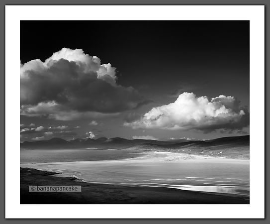 Scarista Sands, Isle of Harris (BP3054BW)