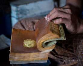Gold Leaf Manufacture