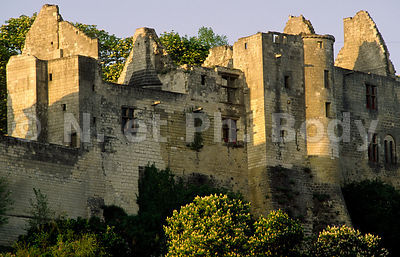 FRANCE, VALLEE DE LA LOIRE, CHATEAU DE CHINON//FRANCE, LOIRE VALLEY, CASTLE OF CHINON