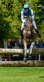Ludwig Svennerstal and ALEXANDER - Cross Country phase, Mitsubishi Motors Badminton Horse Trials 2014