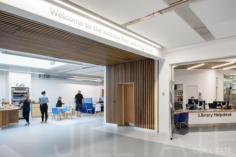 Andrew Kean Learning Centre, Leeds Trinity University | Client: Jefferson Sheard Architects