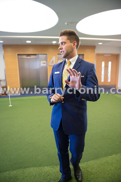 21st September, 2017.Ryanair AGM at Ryanair HQ, Swords. Pictured is a member of staff .Photo: BARRY CRONIN/www.barrycronin.co...
