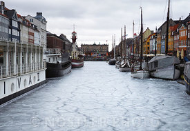 Nyhavn on ice