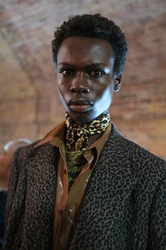 London Fashion Week Spring Summer 2019  - John Lawrence Sullivan Backstage