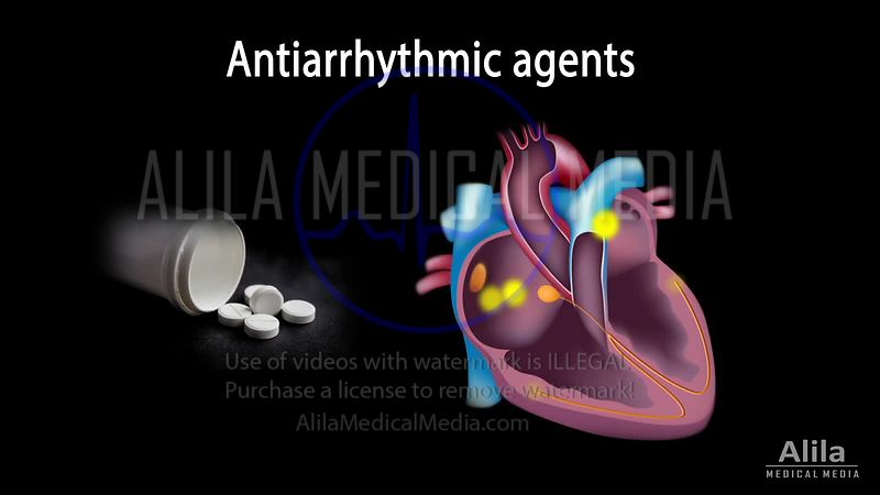 Antiarrhythmic drugs NARRATED animation