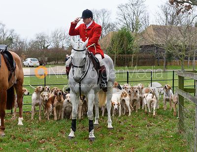 Chris Edwards At the meet. The Cottesmore Hunt at Bleak House 18/12