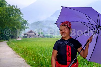 Vietnam, environs de Bac Ha, gens de l'ethnie Tay//Vietnam, near Bac Ha, tay ethnic group people