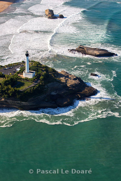 Pays-Basque, Phare de Biarritz - Côte-Basque - Biarritz (64) France