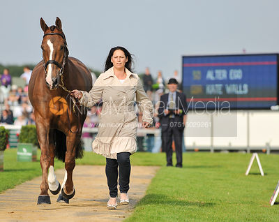 Kate Walls and Alter Ego - 2nd Inspection - Burghley 2010