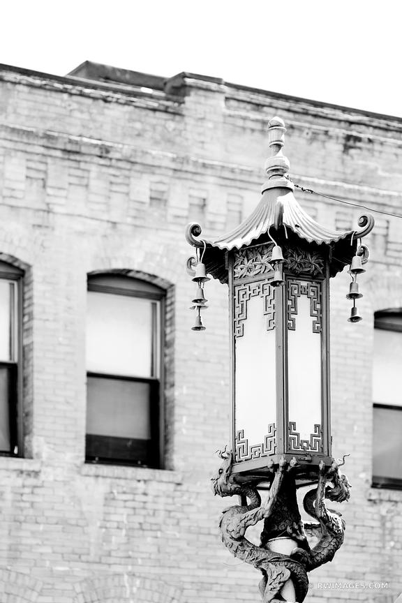CHINATOWN SAN FRANCISCO BLACK AND WHITE