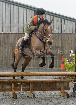 Ned Forryan - Class 3 - The Cottesmore Hunt Pony Club Eventer Trial, Ranksboro Polo, Friday 3rd April 2015.