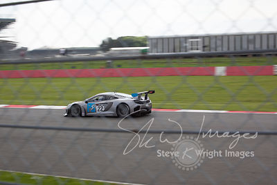 Preci-Spark McLaren 12C GT3 in action at the Silverstone 500 - the third round of the British GT Championship 2014 - 1st June...