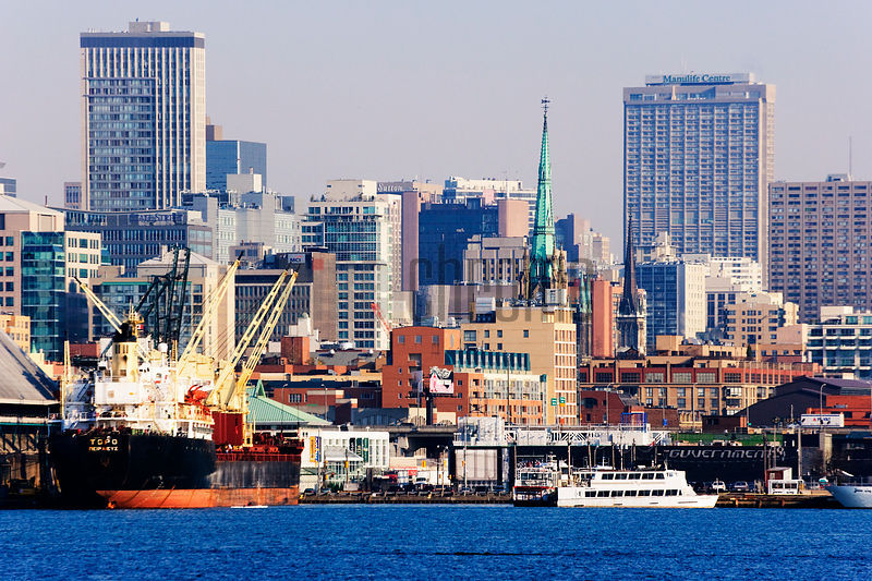 City Skyline & Harbor