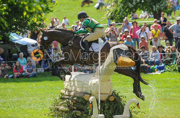 Alex Postolowsky and ISLANMORE GINGER - CIC*** - Bramham Horse Trials 2013