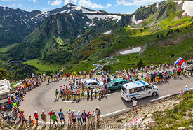 Ambulance of Le Tour de France - Tour de France 2013