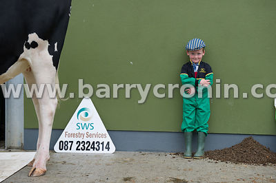 19th August, 2015.The 74th Virginia Agricultural Show, Virginia, County Cavan. Pictured is Caolán Fitzpatrick from Ballyhaise...