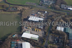 Skelmersdale aerial view of the Rodco Works Stanley Way