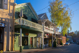 Early Morning in Nevada City #2