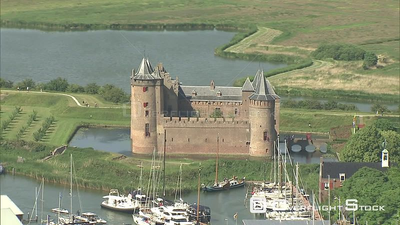 Muiderslot Castle near Amsterdam, The Netherlands