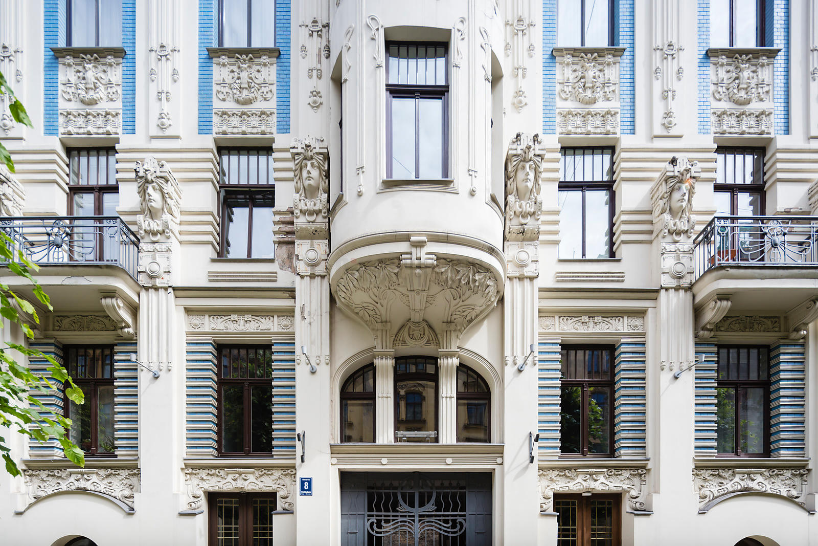 Art Nouveau Buildings Designed by Architect Mikhail Eisenstein