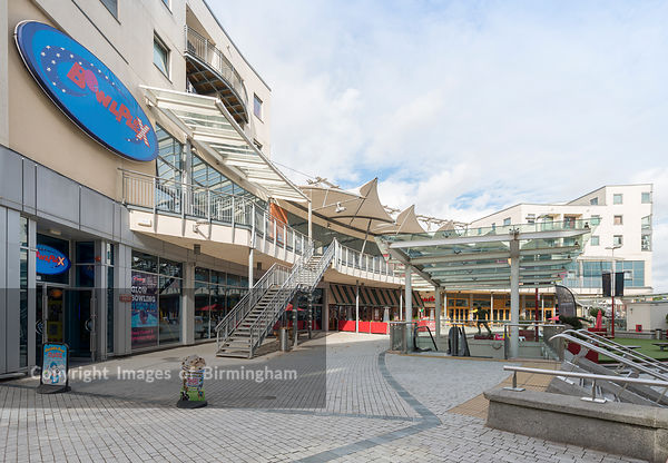 Broadway Plaza, leisure and entertainment centre. Contains casino, bowling alley, gym and restaurants. Edgbaston, Birmingham