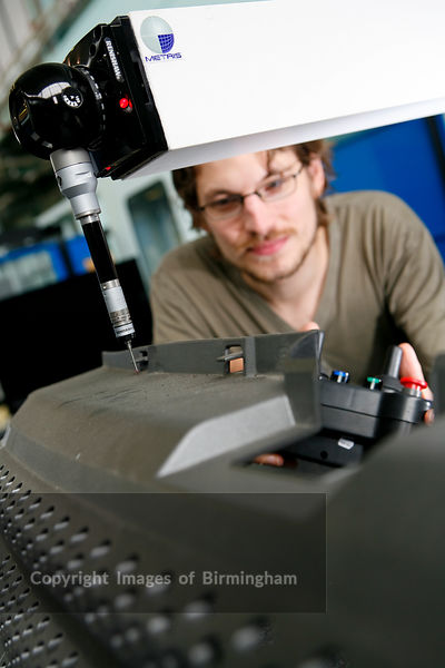 University of Warwick. Warwick Manufacturing Group. Co-ordinates Measuring Machine (CMM) used in quality control.