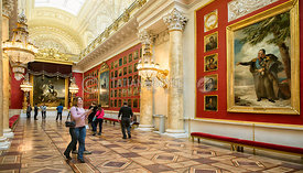 Military Gallery of the Winter Palace; St. Petersburg, Russian Federation