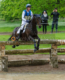 Ludwig Svennerstal and KING BOB - Cross Country phase, Mitsubishi Motors Badminton Horse Trials 2014