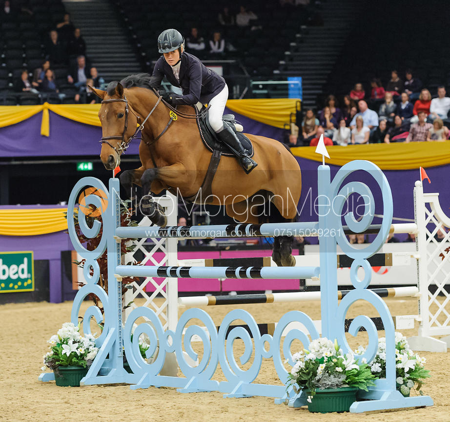 Laura Renwick and Parvati De Breve - The Horse and Hound Foxhunter, Horse of the Year Show 2010