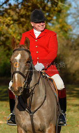 Michael Dungworth at the meet. The Belvoir Hunt at the Kennels 13/11