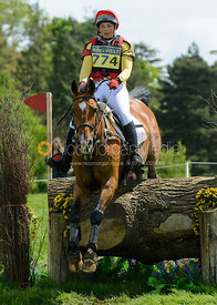 Sarah Stretton and CARISSIMO Z - Rockingham Castle International Horse Trials 2016
