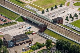 Dronten - Luchtfoto Station