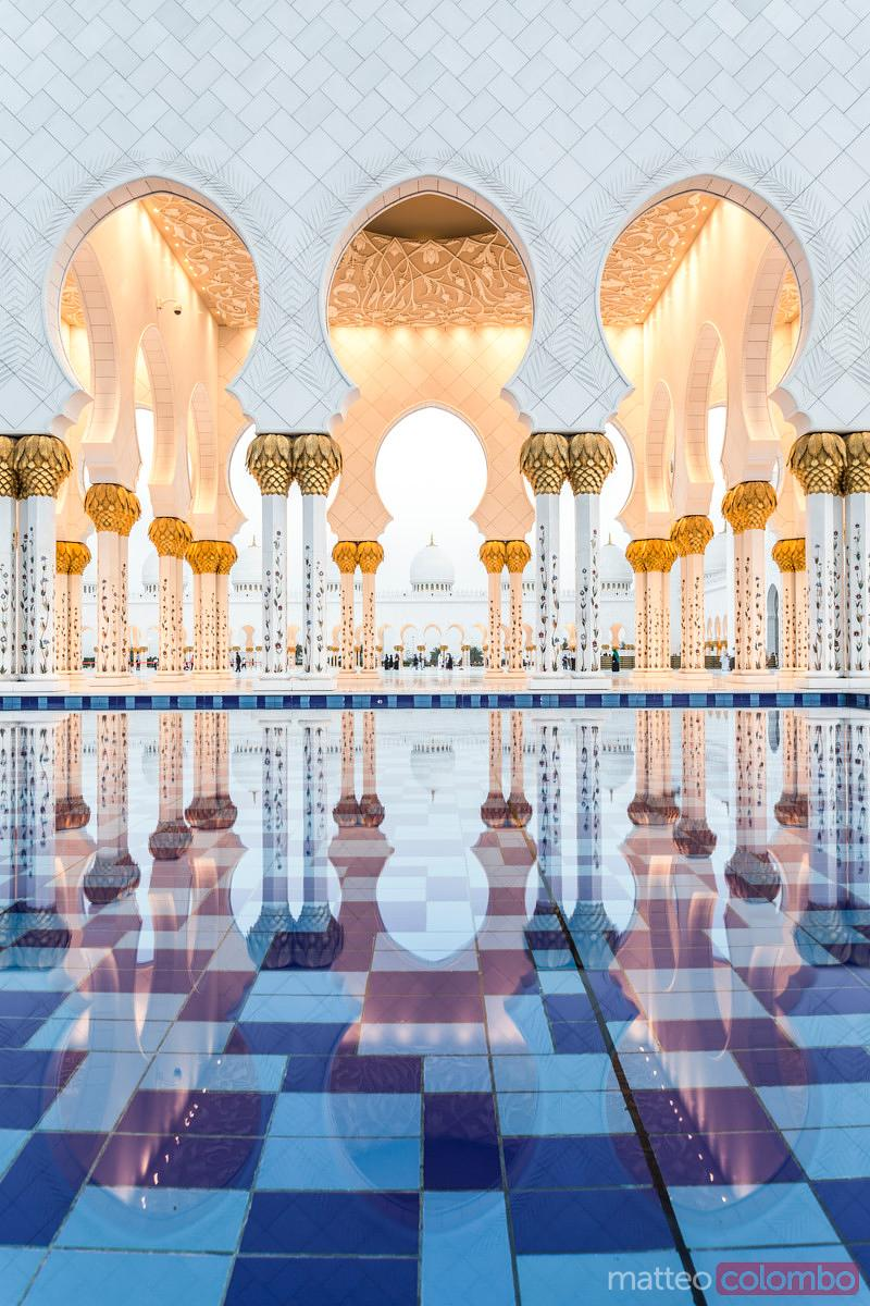 United Arab Emirates, Abu Dhabi. Sheikh Zayed Grand Mosque