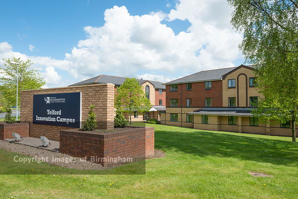 The Telford Innovation Campus, University of Wolverhampton, Telford Campus at Prioslee, Telford, Shropshire