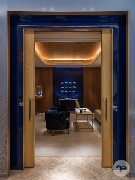 Photographe architecture retail boutique Paris - BOUTIQUE CHAUMET MADRID
