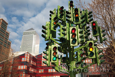 Pierre Vivant, Traffic Light Tree, London