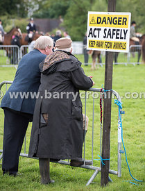 19th August, 2015.The 74th Virginia Agricultural Show, Virginia, County Cavan. Pictured are people watching the show . ..Phot...