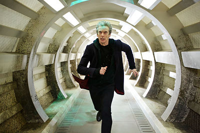 Doctor Who Series 9, publicity still of Peter Capaldi as The Doctor