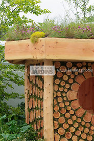 Bizarre, Garden construction, Garden shed, Wood, Digital, Green roof