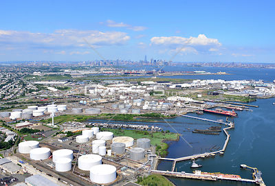 Industry and Tank Farm Constable Hook Bayonne New Jersey