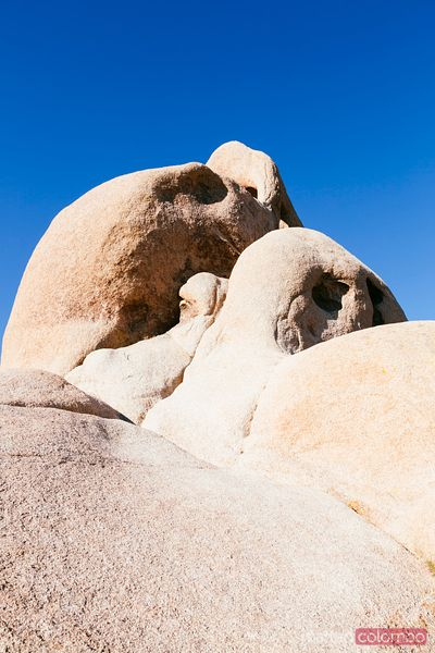 Skull rock, Joshua Tree National Park, California, USA