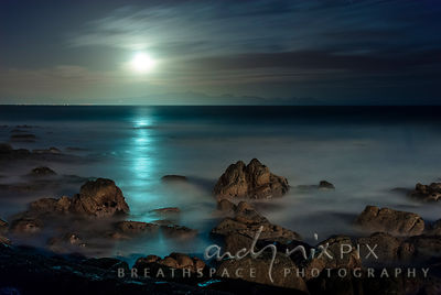 Moonlight sea I