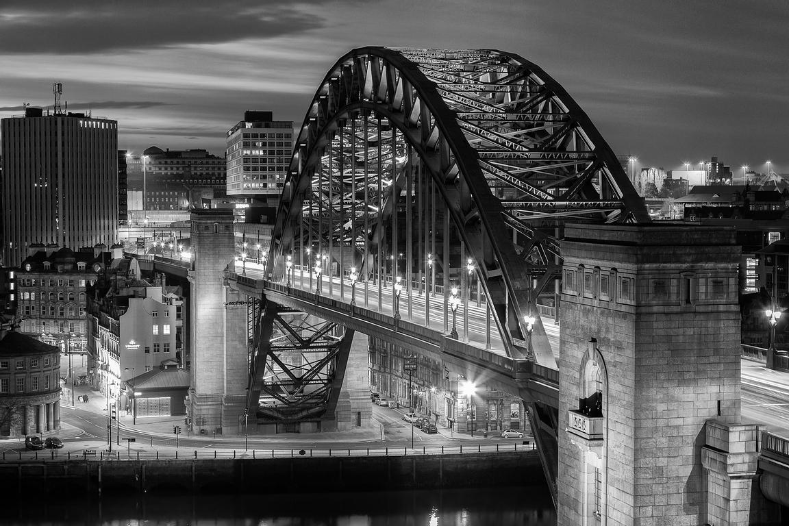 Newcastle photos black white bridge newcastle photos