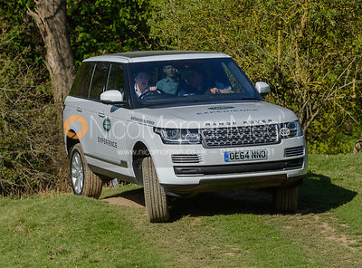 Rockingham Castle Land Rover Experience