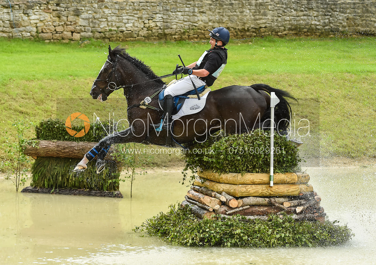 Ben Hobday and HARELAW WIZARD, Equitrek Bramham Horse Trials 2018