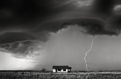 Little House and Storm