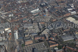 Manchester Piccadilly Basin and the Northern Quarter of Manchester