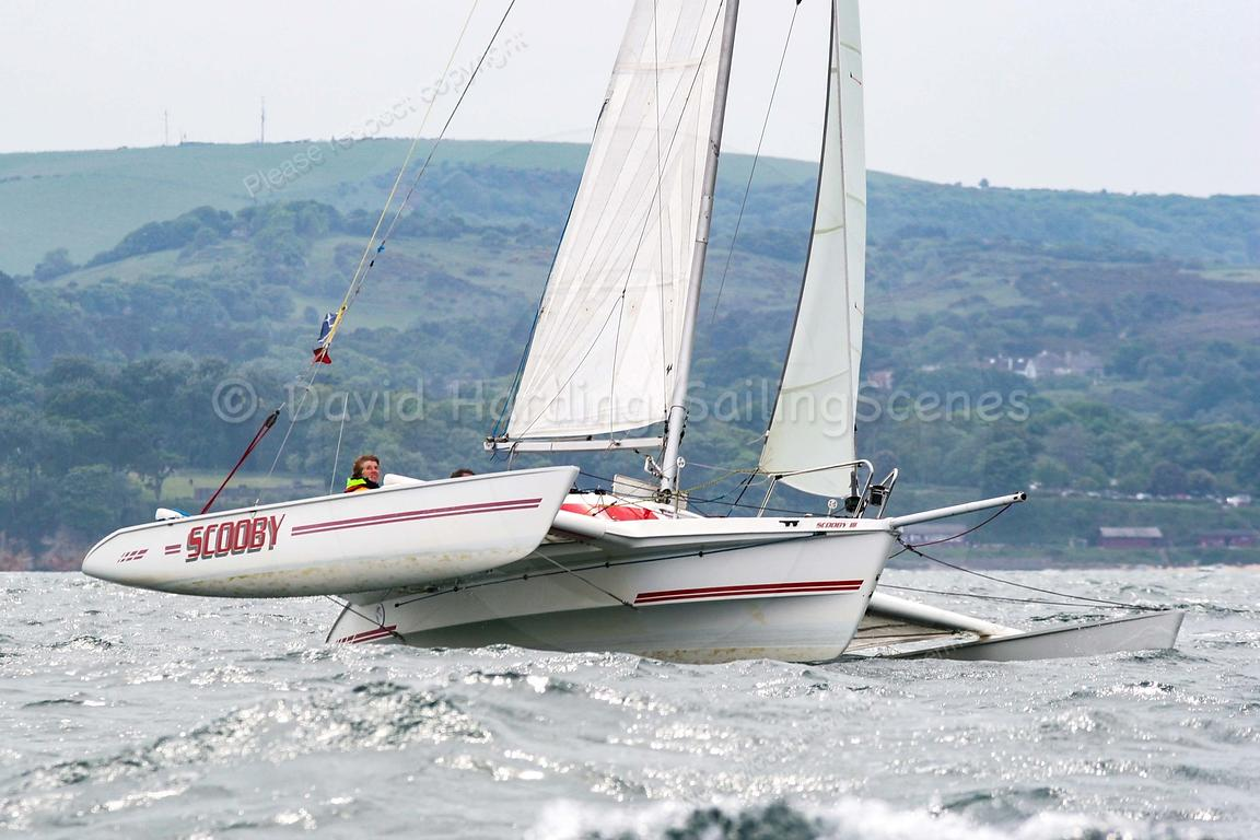 Sailing Scenes   Scooby, Dragonfly 800 trimaran