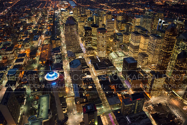 Downtown Calgary at Night